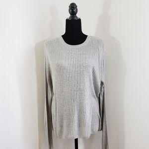 H&M Basic | Long Sleeve Sweater | Gray